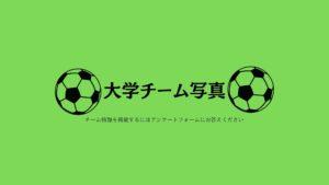 大学サッカーチーム写真緑